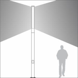 Promenade light distribution