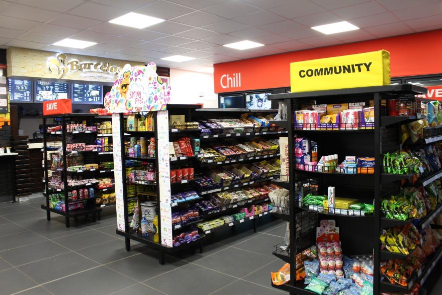 caltex petrol station regent lighting solutions