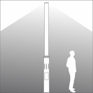 Tower Urban Light Element light distribution