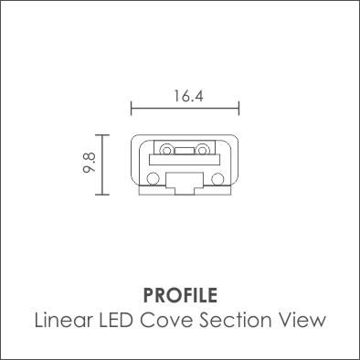 Linear LED Cove