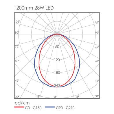 Linear Maxi light distribution