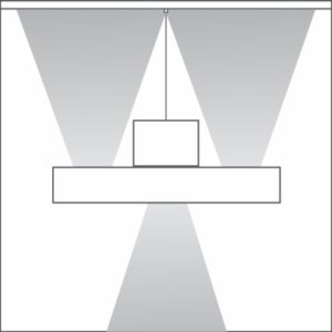 Plano light distribution