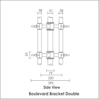 Boulevard Bracket Double
