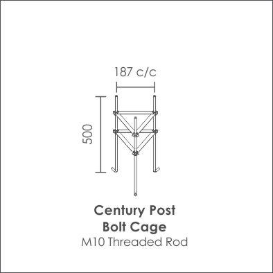 Century Post Bolt Cage