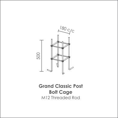 Grand Classic Post bolt cage