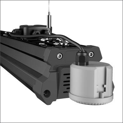 Holda with motion sensor