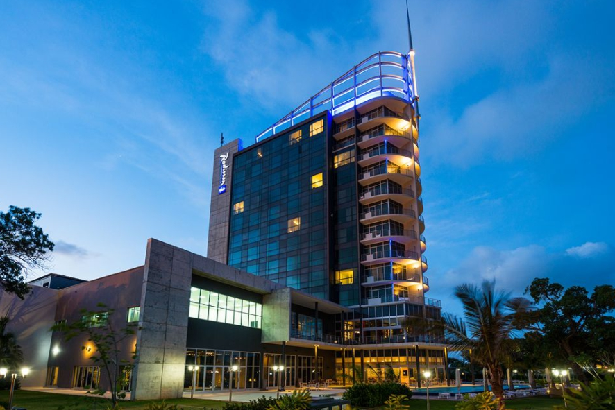 The Radisson Blu Hotel